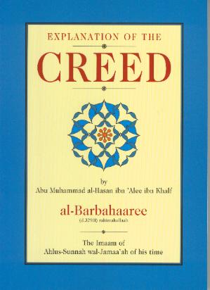 Explanation of the Creed (Kitaab Sharh us-Sunnah) Imaam al